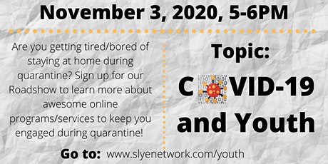 Online Roadshow: COVID-19 and Youth tickets
