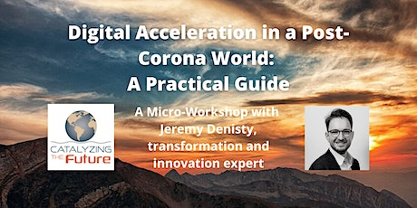 Digital Acceleration in a Post-Corona World: A Practical Guide​ tickets