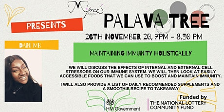 Palava Tree Webinar - Maintaining Immunity Holistically tickets