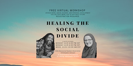 Healing the Social Divide Free Workshop tickets