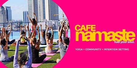 Cafe Namaste™  Miami: Coffee + Yoga + Connection tickets