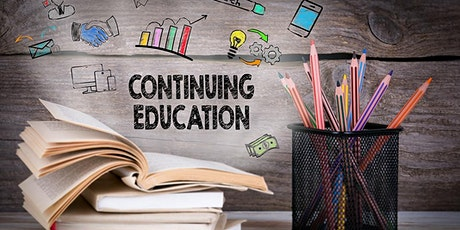 Continuing Education tickets