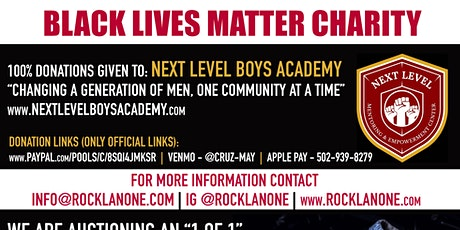 Black Lives Matter (BLM) Charity tickets