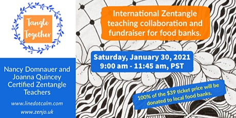 Tangle Together International Fundraiser Saturday, January 30, 2021 tickets