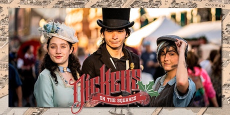 Dickens on The Squares tickets