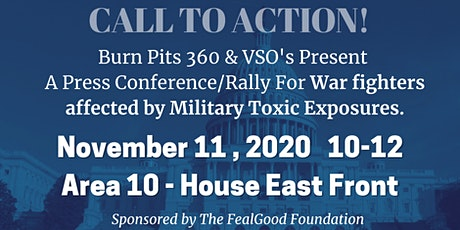Veterans Day Military Toxic Exposures Rally-GET LOUD tickets