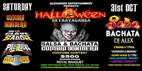 Halloween Salsa Bachata & Cumbia Extravaganza tickets