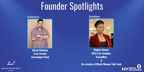 Founder Spotlights presented by Grasshopper Bank & NY Tech Alliance tickets