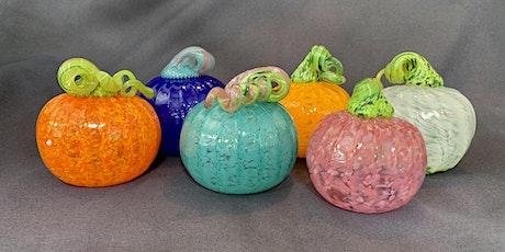 Create Your Own Blown Glass Pumpkin tickets