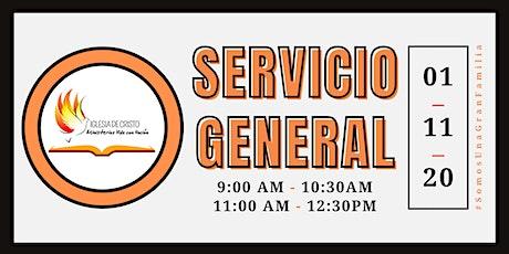Prueba de inscripción a Servicio MVU - Fecha de ejemplo: 01 Noviembre 2020 entradas