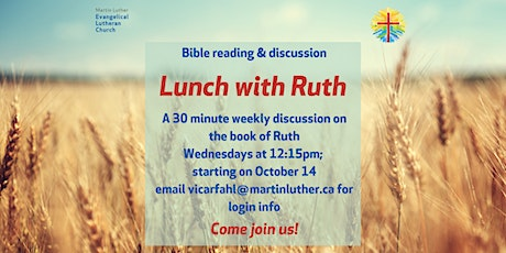 Lunch with Ruth tickets