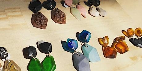 Resin Earring Workshop with Maca Bernal Jewellery Artist tickets