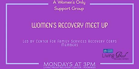 Women's Recovery Meet up tickets
