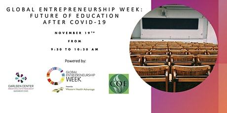 GEW: Future of Education after COVID-19 tickets
