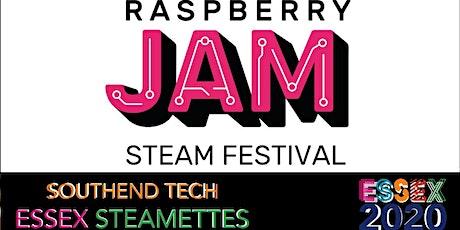 Raspberry Jam talks bilhetes