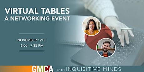 GMCA-UA Virtual Tables tickets