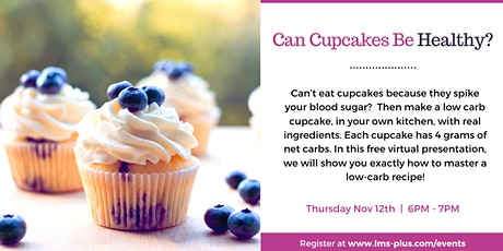 Can Cupcakes Be Healthy? tickets