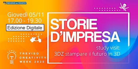 Virtual Study visit presso la 3DZ: stampare il futuro in 3D biglietti