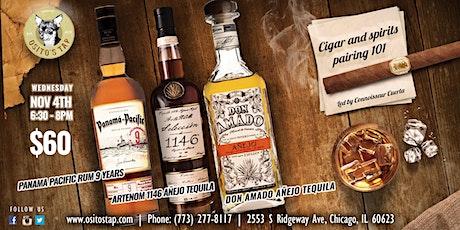 Cigar & Spirits pairing 101 tickets