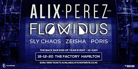 Playbook Pres. ALIX PEREZ, FLOWIDUS, SLY CHAOS, ZEISHA & PORIS tickets