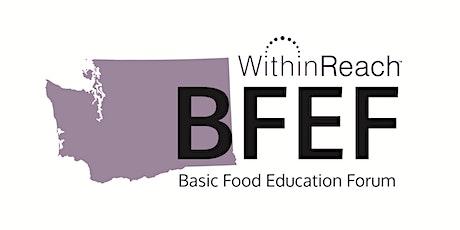 Basic Food Education Forum (BFEF) – Winter 2021 – Virtual tickets