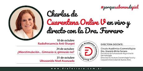 Charlas de Cuarentena Onlive V - En vivo y directo con la Dra. Ferraro entradas