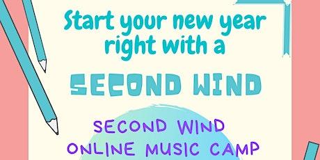 Second Wind  Online Music Camp tickets