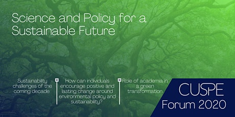 Cambridge Science and Policy Forum tickets