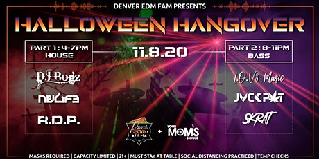 Halloween Hangover (Late) tickets