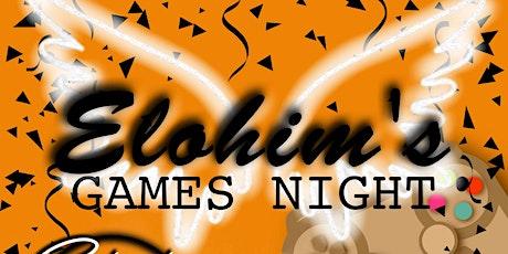 Elohim's Games Night tickets
