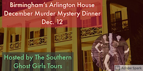 December  Christmas Murder Mystery Dinner Birmingham's  Arlington House tickets