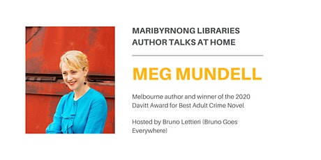 Author Talk At Home: Meg Mundell tickets