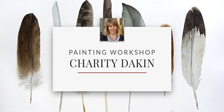 Watercolour Painting Workshop with Professional Artist Charity Dakin