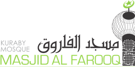 Jummah at Kuraby Mosque 30 October - 3 sessions tickets