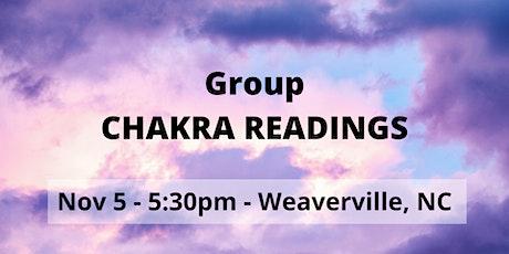 Group Chakra Readings tickets