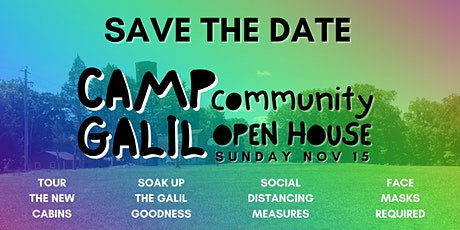 Camp Galil In-Person Open House tickets