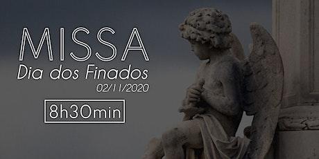 Missa dia dos Finados -  02 de novembro - 8:30 billets
