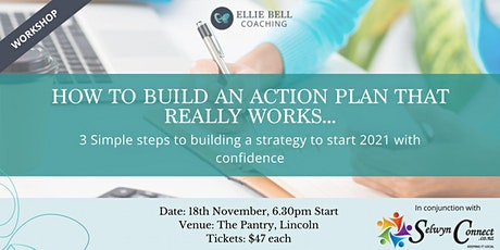 How to build an action plan that REALLY works . tickets