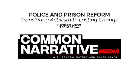 Police and Prison Reform: Translating Activism to Lasting Change tickets