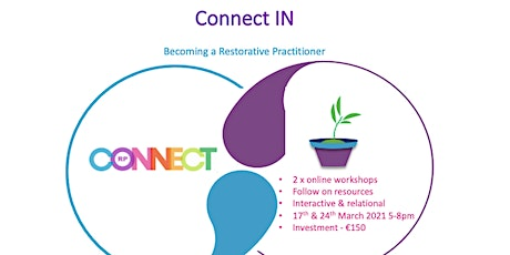 Online CONNECT In - Restorative Practitioner tickets