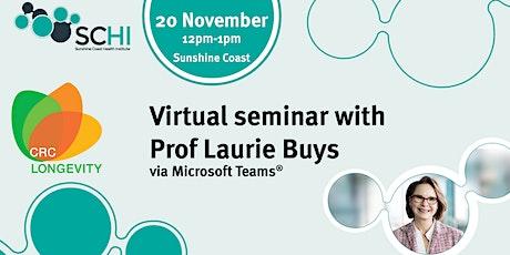 Virtual seminar | Longevity CRC vision tickets