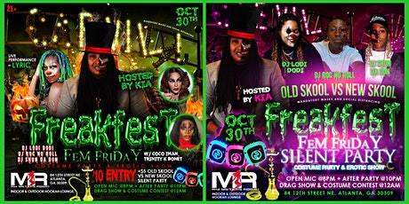 LGBTQ Freakfest: Costume Party, Live Music and  Drag Show, & Silent Party tickets