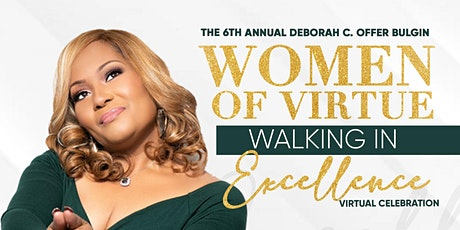 2020 Sponsor, Donor, and Vendors  Women of Virtue Walking in Excellence tickets