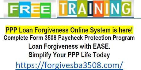 Copy of FREE TRAINING - PPP LOAN FORGIVENESS ONLINE SOFTWARE. tickets