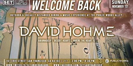 SET's Halloween Sunday w/ David Hohme (Anjunadeep, Desert Hearts) tickets