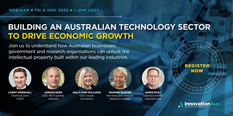 Building an Australian Technology Sector to Drive Economic Growth tickets
