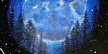 Full Moon paint session with  Soak & Relax at Femme Fatale DC tickets