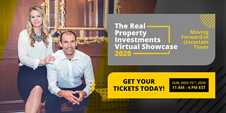 Real Property Investments Virtual Showcase 2020 tickets
