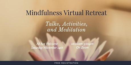 Virtual Mindfulness Retreat tickets