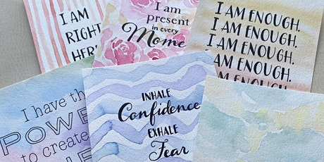 Mindful Moments Watercolor Cards at I Am Limitless tickets